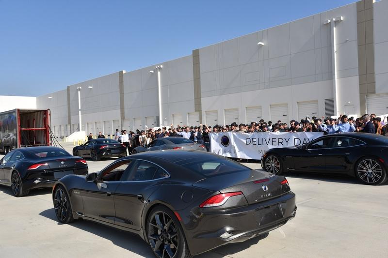Karma Automotive Plant Launches Revero