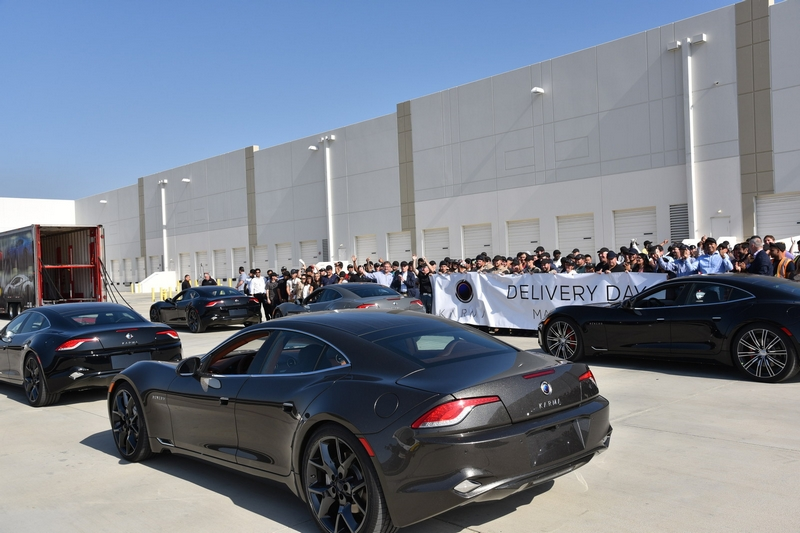 Karma Automotive Plant Launches Revero