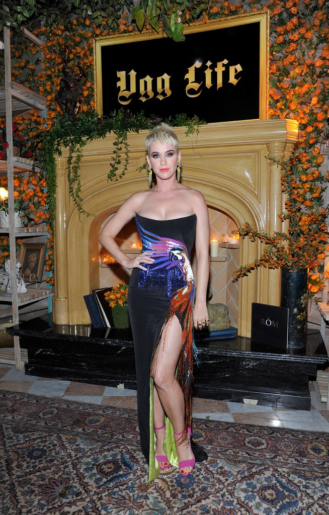 Katy Perry at the UGG x Jeremy Scott Collaboration Launch Event