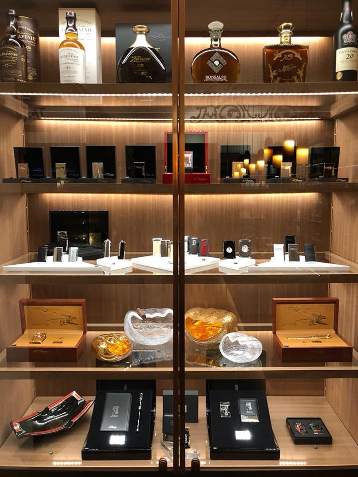 Kempinski Cigar Lounge by Zechbauer- accessories