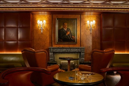 The finest cigars meet the exclusive British gentlemen's club at the new Kempinski Cigar Lounge