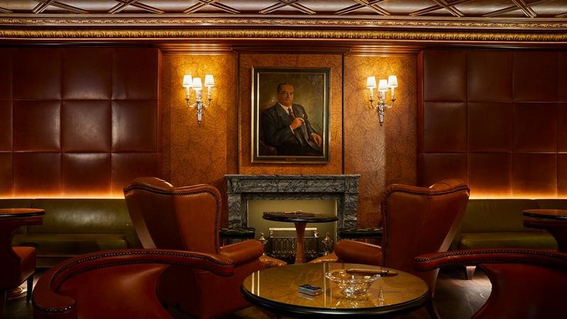 Kempinski Cigar Lounge by Zechbauer - interior
