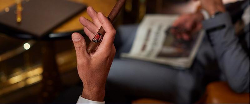 Kempinski Cigar Lounge by Zechbauer