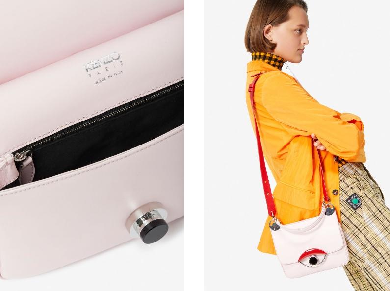 Kenzo Tali Collection 2019 _ crossbody bag HandBag-