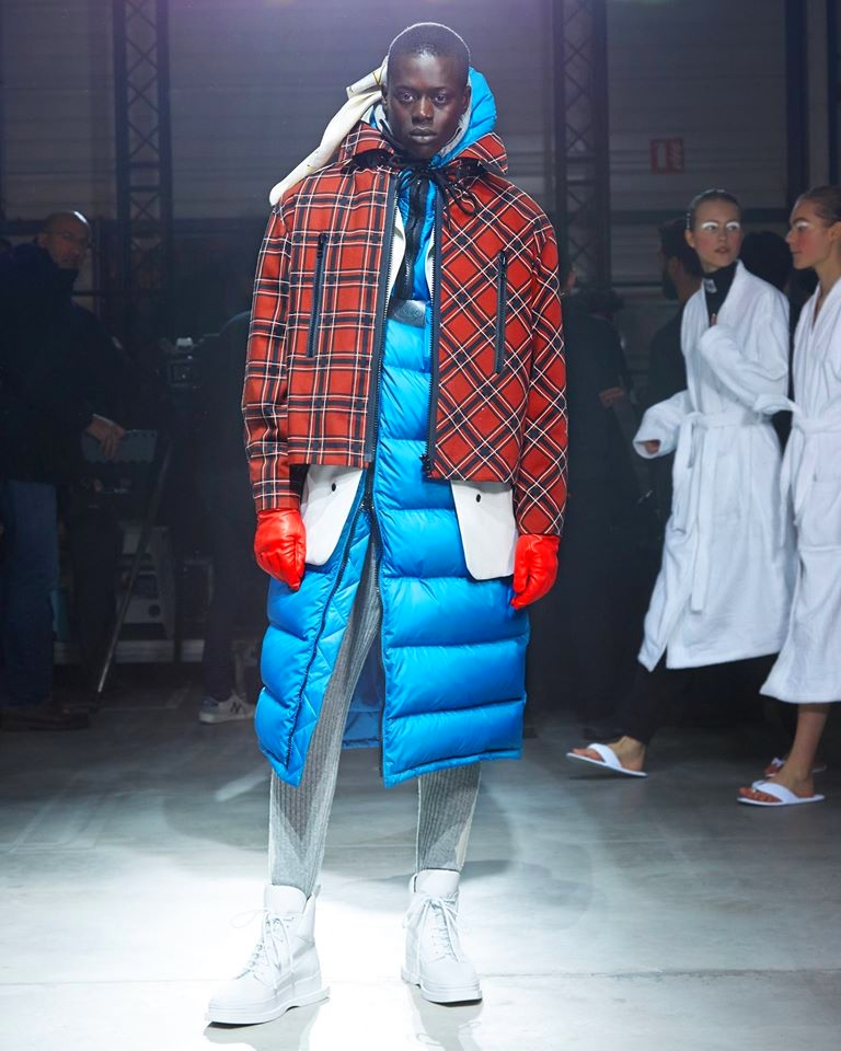 Kenzo closed Paris Men's Fashion Week with Fall-Winter 2017 looks for both sexes--2017
