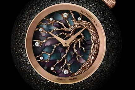 Kerbedanz The Tree of Life – A tapestry of snow-set emeralds and black diamonds