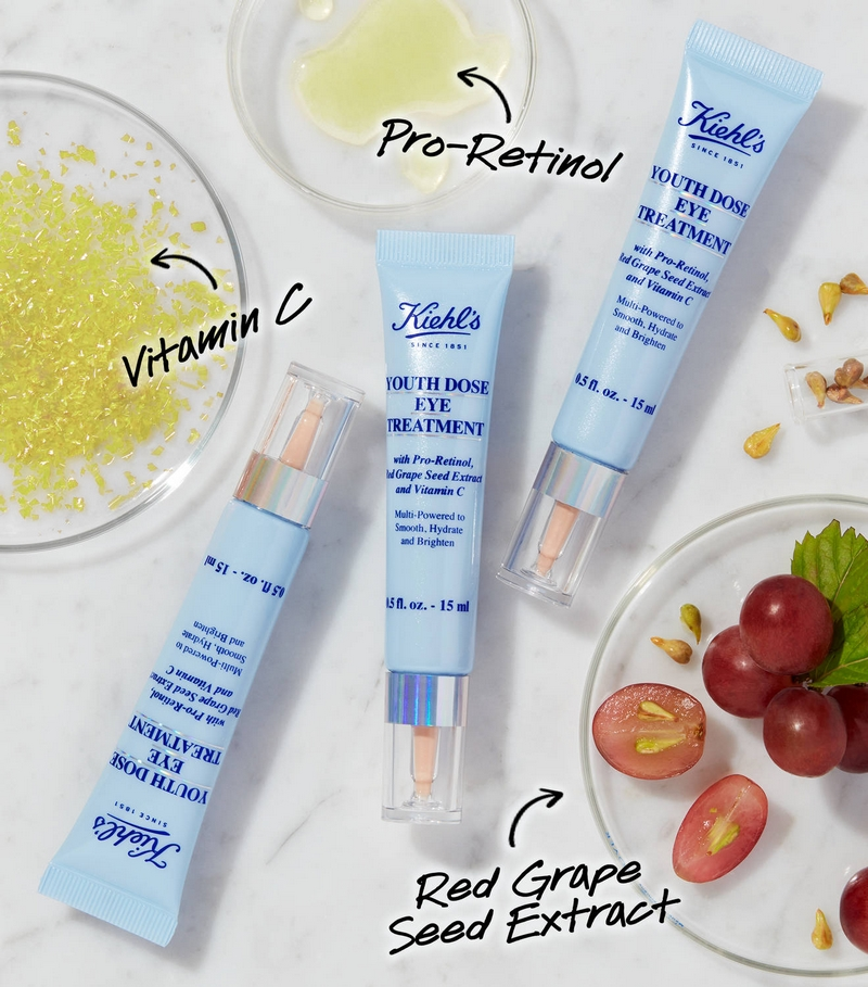 Kiehl's introduces Youth Dose Eye Treatment-