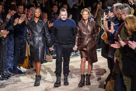 Kim Jones's last Louis Vuitton show ends in super-charged bang