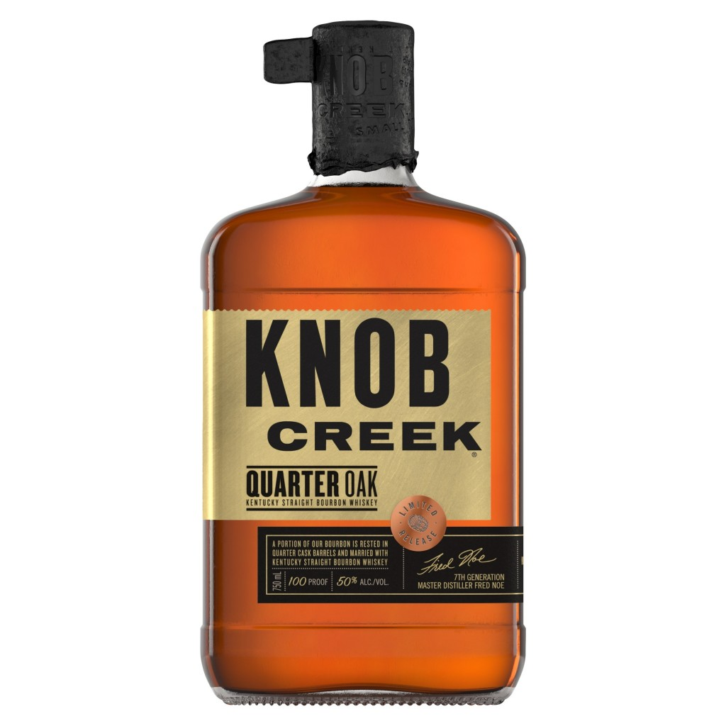 Knob Creek Bourbon Introduced Limited Time Expression Knob Creek Quarter Oak