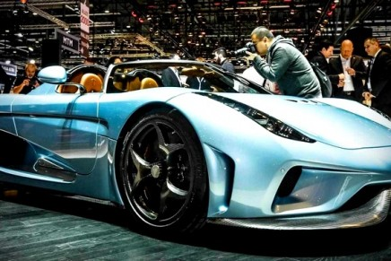 "Koenigsegg Regera is Swedish for ""to reign"""
