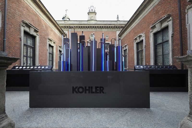 Kohler's Ombré finishes make use of clean, minimal surfaces