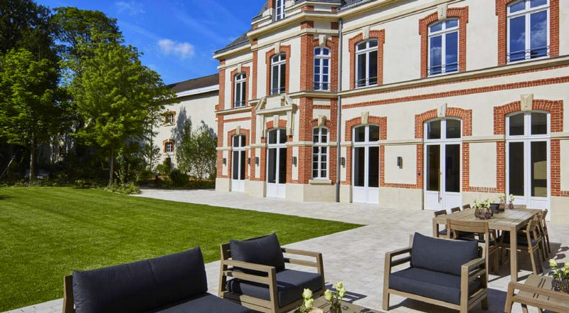 Krug family home reopens at 5 rue Coquebert in Reims-France-house facade
