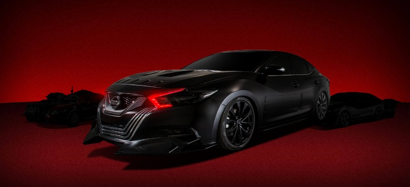 Kylo Ren -Nissan has collaborated with Lucasfilm to create seven unique, Star Wars The Last Jedi inspired Show Vehicles