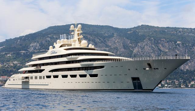 Lürssen's Superyacht Dilbar was named Motor Yacht of the Year 2017