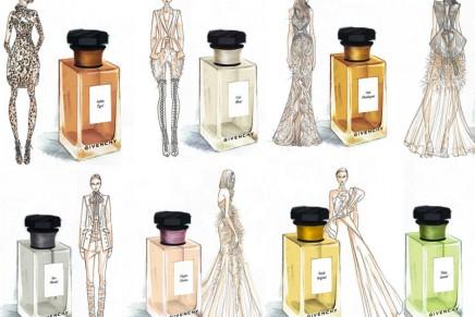 L'Atelier de Givenchy: a wardrobe of seven new fine fragrances