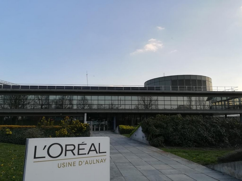 L'Oréal invests in Aulnay-sous-Bois plant for luxury beauty products and fine perfumes
