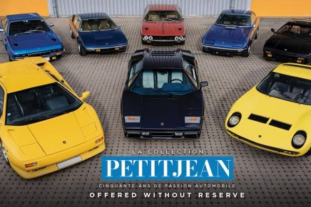Almost 100 rare vehicles acquired by ex-racing driver Marcel Petitjean offered at auction