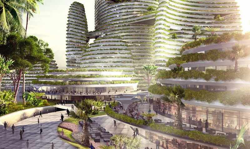 LAVA Forest City - a futuristic green city for Malaysia2017