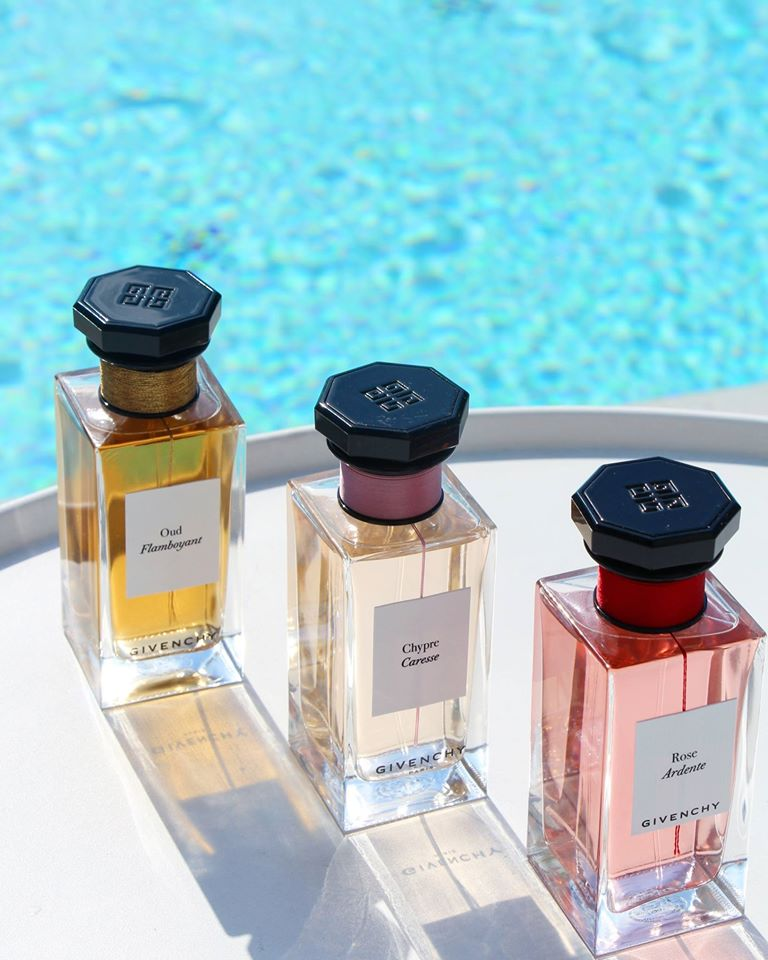 L'Atelier de Givenchy, a Haute Parfumerie collection at the Spa Metropole by Givenchy