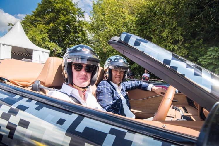 LC Convertible Prototype debut at goodwood festival of speed 2019-