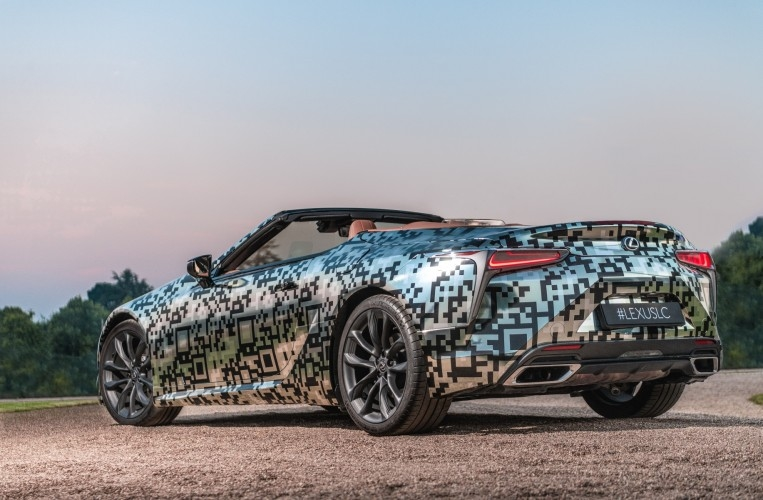 LC Convertible Prototype debut at goodwood festival of speed 2019-01