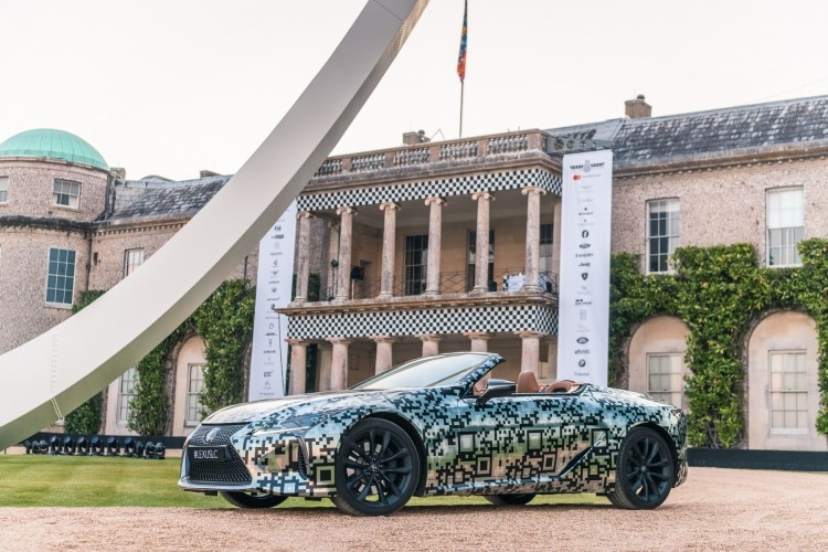 LC Convertible Prototype debut at goodwood festival of speed 2019