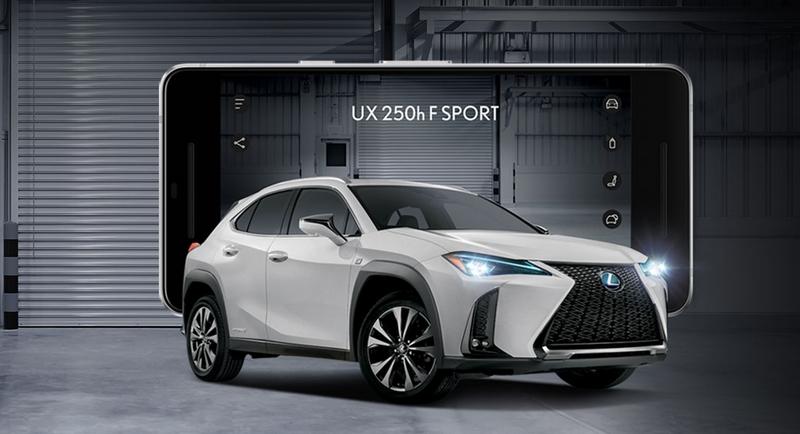 LExus UX 250h model 2019