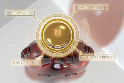 This smart decanter will connect cognac connoisseurs to the Louis XIII Society private club