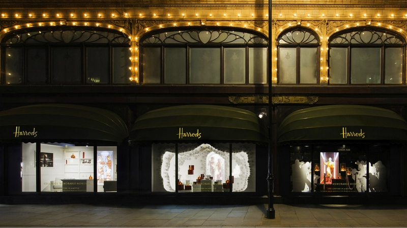 LOUIS XIII Pop Up Boutique at Harrods 2017
