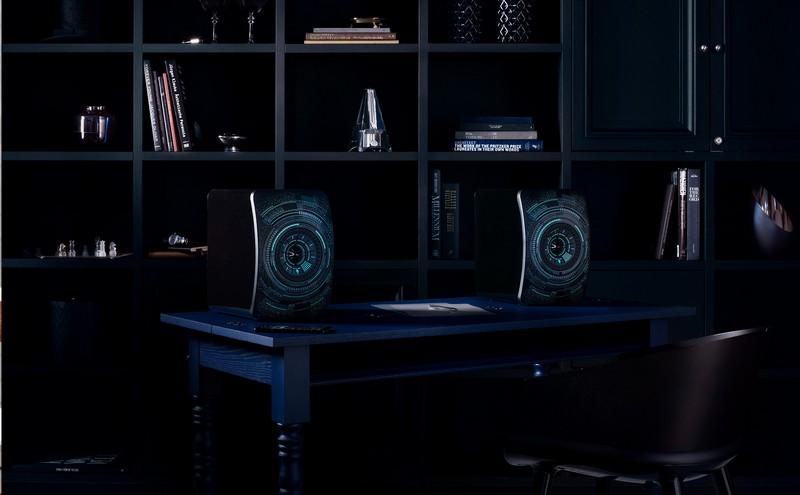 LS50 Wireless Nocturne Design by Marcel Wanders Sound by KEF