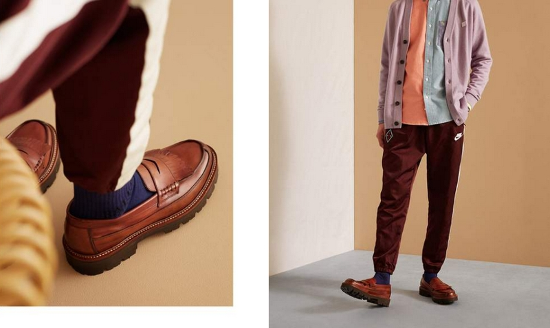 LUG-SOLE LOAFERS BY GRENSON