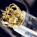 LUXURY LIFESTYLE AWARDS Golden Crown trophy