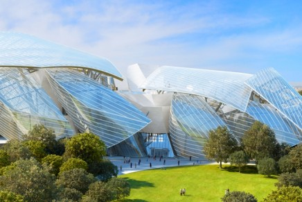 The Fondation Louis Vuitton aims to represent a new phase in the art patronage