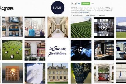 LVMH's Les Journées Particulières 2016 has a strong digital dimension via Instagram