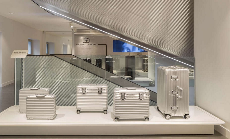LVMH's RIMOWA high-end luggage has opened its first flagship store in Paris 2017