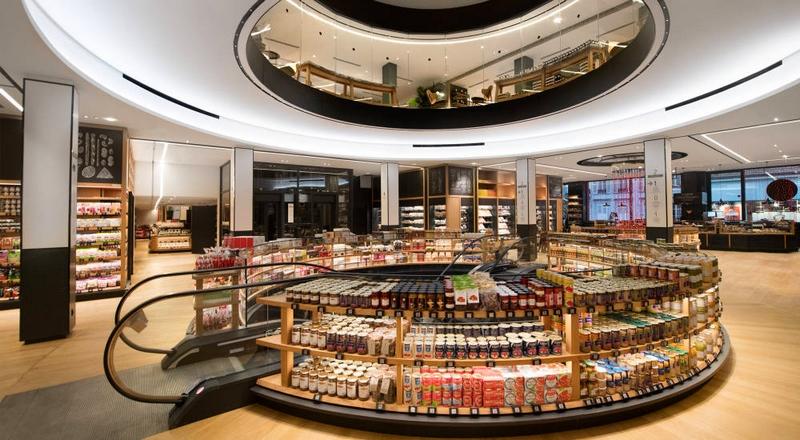 La Grande Epicerie de Paris, the ultimate in Paris gourmet food stores, opens a sister emporium