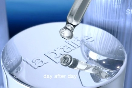 Time stands still: La Prairie Cellular Swiss Ice Crystal