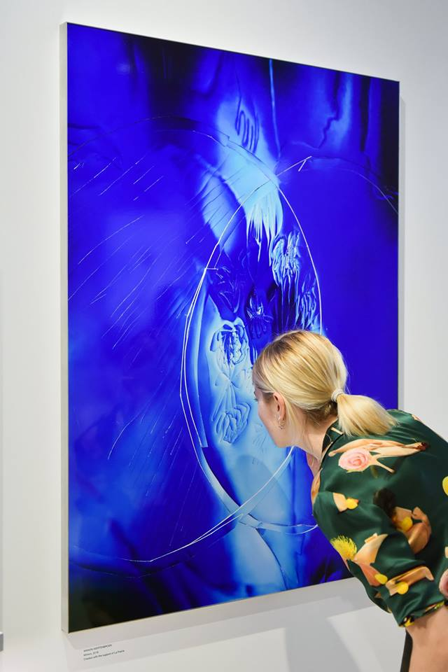 La Prairie has collaborated with Swiss artist Manon Wertenbroek to produce a series of exclusive artworks-