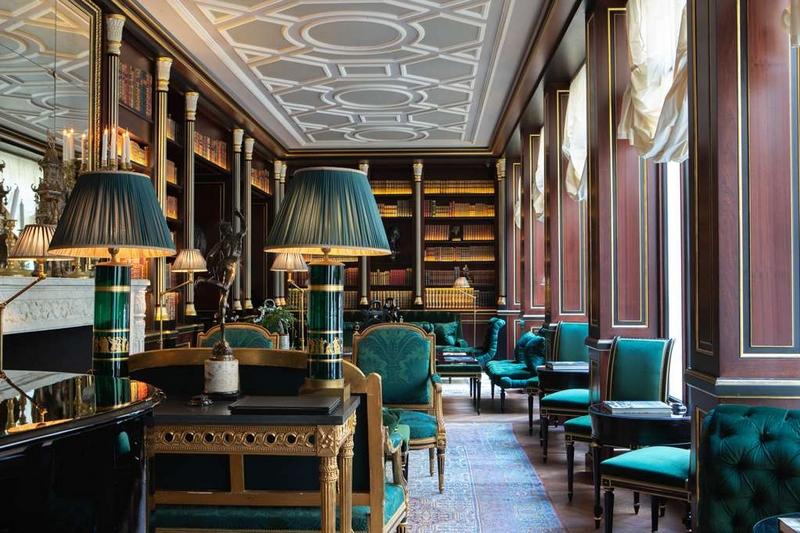 La Reserve Paris Hotel and Spa 2019 - Library Duc de Morny
