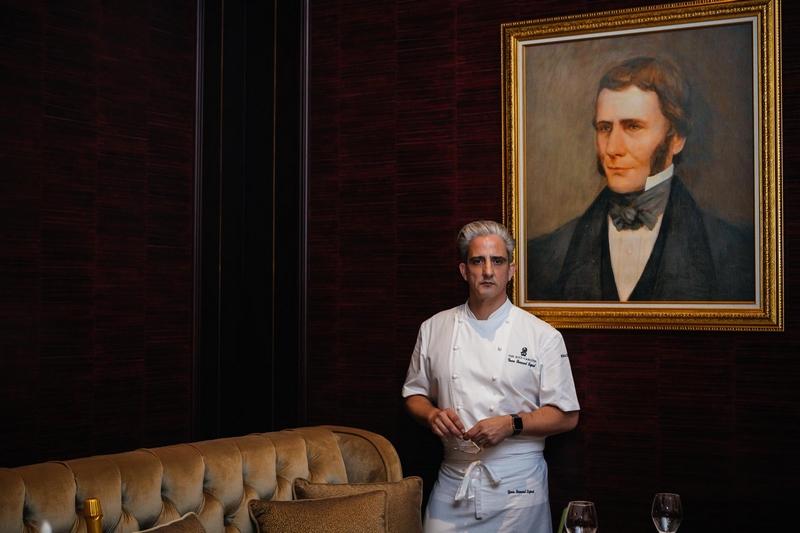 La Table Krug by Y at The Ritz-Carlton, Bahrain 2019- award-winning Executive Chef Yann Bernard Lejard