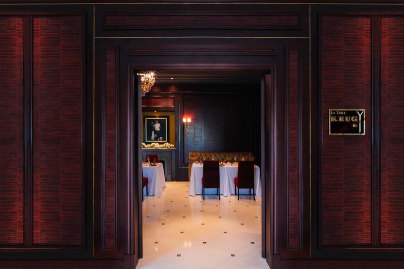 La Table Krug by Y at The Ritz-Carlton, Bahrain 2019-entrance