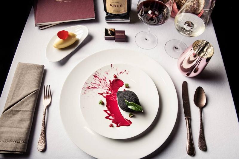 La Table Krug by Y at The Ritz-Carlton, Bahrain - menu example