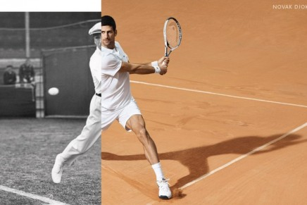 Lacoste has developed for Novak Djokovic a collection to be worn on the tennis court