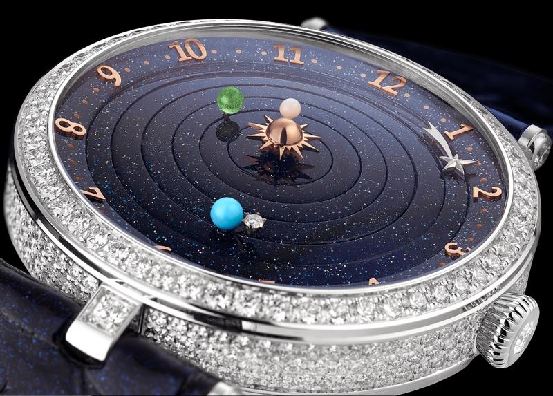 Lady Arpels Planétarium watch