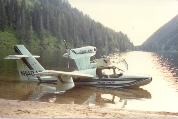 Lake Renegade amphibious aircraft-