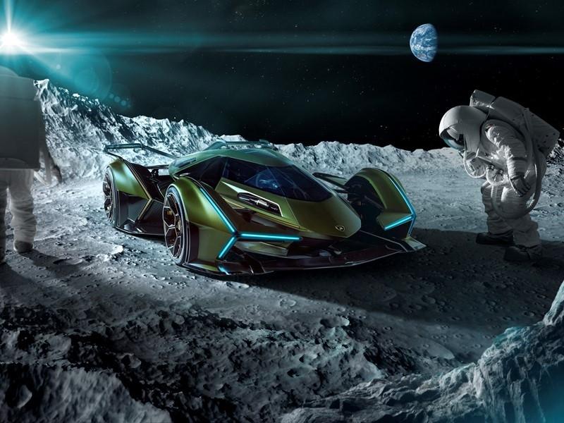 Lambo V12 Vision GT - Moon-2019