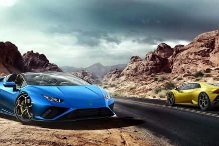 Lamborghini uses Augmented Reality to unveil its Huracán EVO Rear-Wheel Drive (RWD)