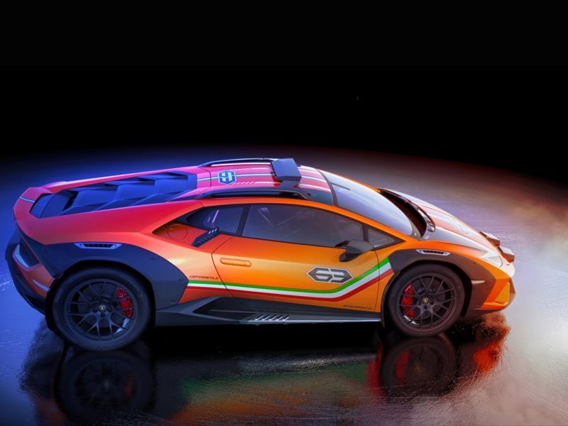 Lamborghini Huracán Sterrato 2019-
