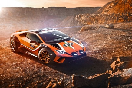 Sterrato is creating a new dimension of Lamborghini 'Fun To Drive Off-Road'