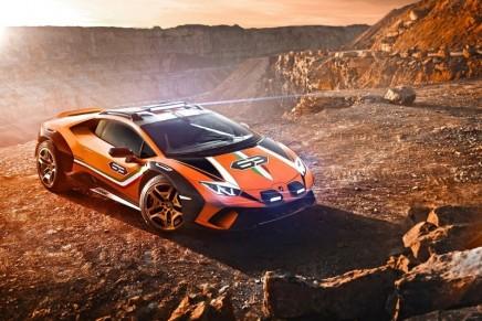 Sterrato is creating a new dimension of Lamborghini 'Fun To Drive Off-Road'